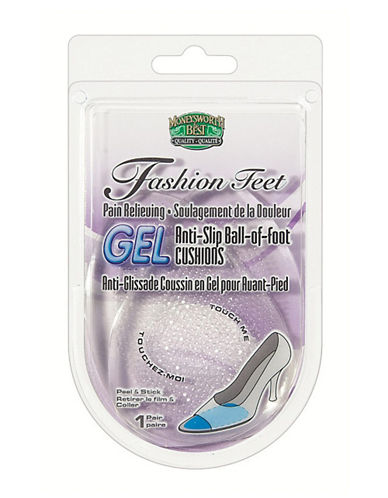 Moneysworth And Best Gel Anti-Slip Ball-Of-Foot Cushions-NO COLOUR-One Size