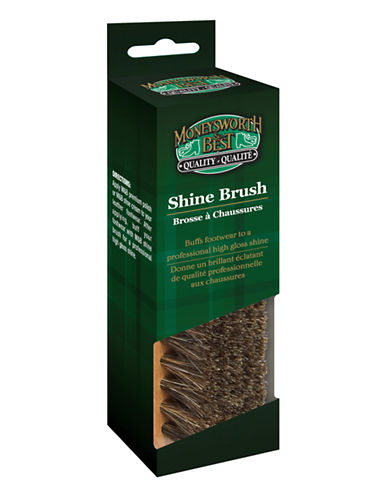 Moneysworth And Best Travel Brush-NATURAL-One Size
