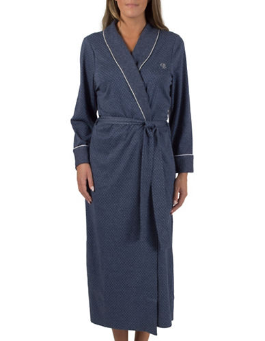 Claudel Dotted Robe-BLUE-Small