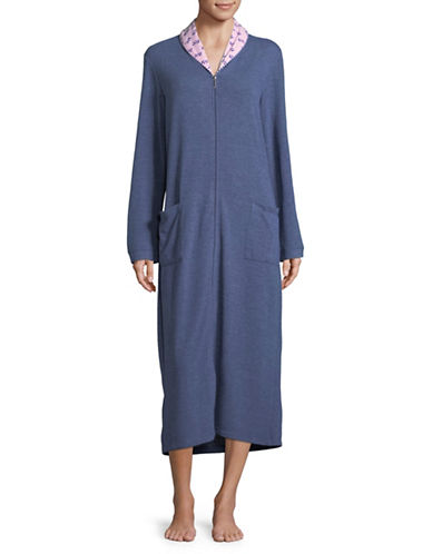 Claudel Long Sleeve Loungewear-BLUE-Small