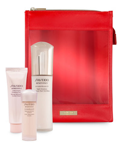 Shiseido Three-Piece Back to School Benefiance Moisturizing Set-NO COLOR-One Size
