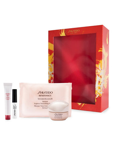 Shiseido Benefiance Eye Four-Piece Set-NO COLOR-One Size