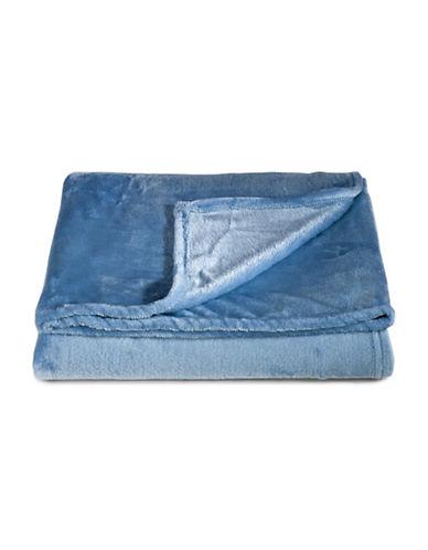 Distinctly Home Fleece Throw-BLUE-One Size
