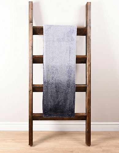 Haven Haven Ombre Jacquard Throw-GREY-One Size