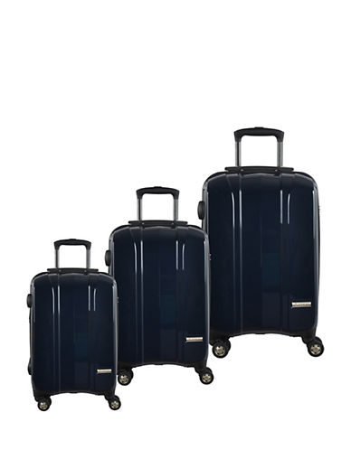 Mcbrine Hard Side Three-Piece 28-Inch Luggage Set-NAVY-3pc