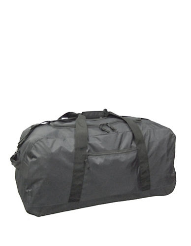 Mcbrine Heavy-Duty Duffle Bag on Wheels-BLACK-30
