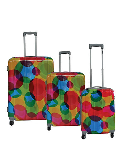 Mcbrine Three-Piece Greenplus Eco Friendly Suitcase Set-BLACK-3pc