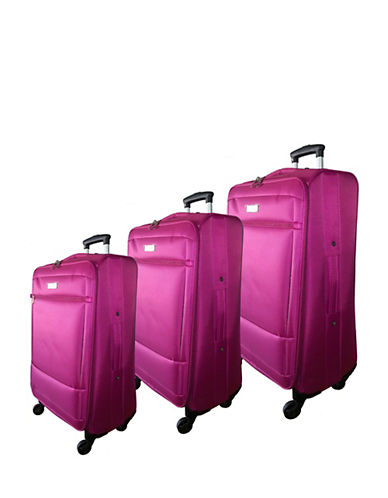 Mcbrine Eco-Friendly Three-Piece 28-Inch Luggage Set-ROSE-3pc