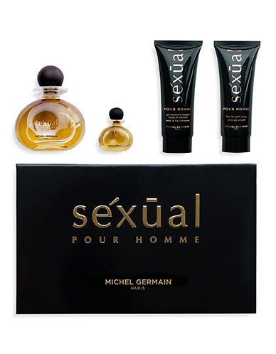 Michel Germain Sexual Pour Homme 4 Piece Gift Set-NO COLOUR-One Size