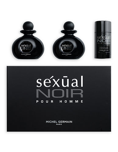 Michel Germain Sexual Noir Pour Homme 3 Piece Gift Set-NO COLOUR-One Size