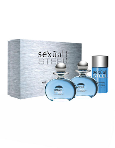 Michel Germain Sexual Steel Pour Homme 3 Piece Gift Set-NO COLOUR-One Size