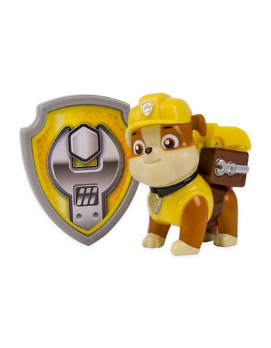 Paw Patrol Action Pack Pup Rubble and Badge-MULTI-One Size