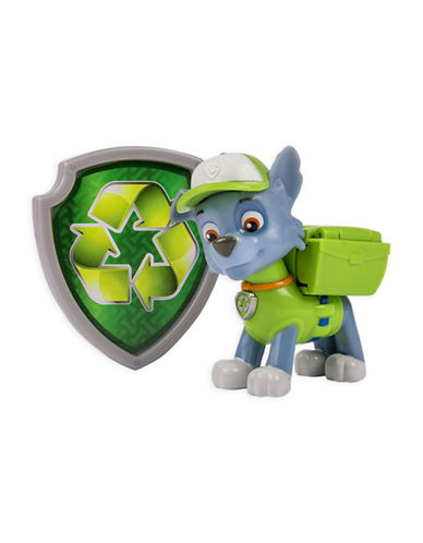 Paw Patrol Action Pack Pup Rocky and Badge-MULTI-One Size