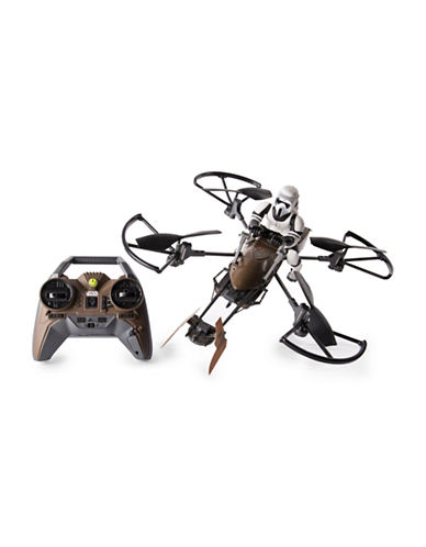 Image of Air Hogs Star Wars Speeder Bike Remote Controlled Drone-MULTI-One Size