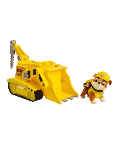 Paw Patrol Super Pup Rubbles Crane Vehicle and Figure-MULTI-One Size
