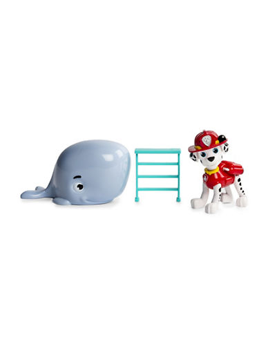Paw Patrol Marshall and Baby Whale Rescue Set-MULTI-One Size
