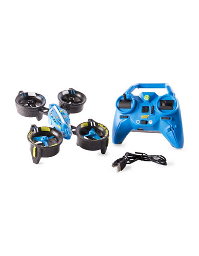 Image of Air Hogs Air Hogs Helix Race Drone 2.4 GHZ Blue RC Vehicle-MULTI-One Size