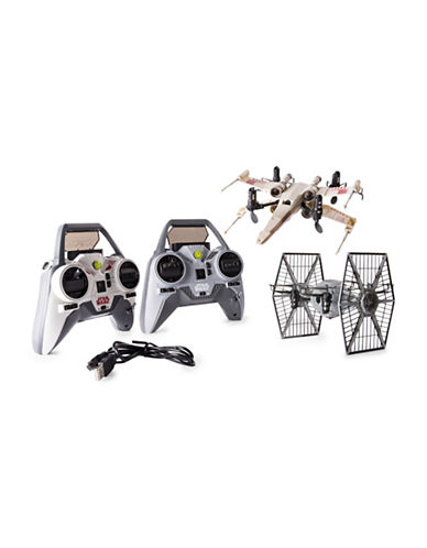 Air Hogs Star Wars X-wing Vs TIE Fighter Drone Battle Set-MULTI-One Size