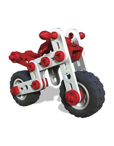 Meccano Meccano Junior Mighty Cycles 3 Model Set-MULTI-One Size
