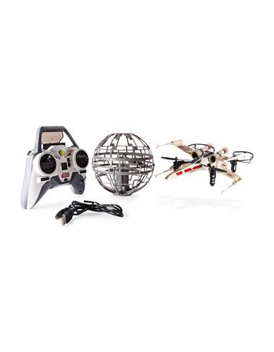Image of Air Hogs Star Wars X-wing vs. Death Star Rebel Assault RC Drones-MULTI-One Size