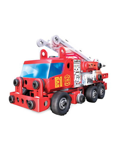 Meccano Meccano Junior Rescue Fire Truck-MULTI-One Size