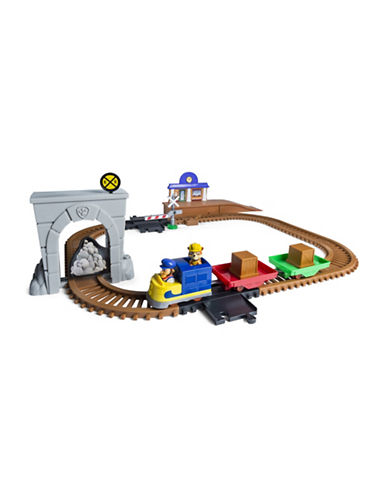 Paw Patrol Paw Patrol Adventure Bay Railway Track Set with Exclusive Vehicle by Spin Master-MULTI-One Size
