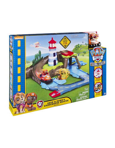 Paw Patrol Skye and Zuma Lighthouse Rescue Track Set-MULTI-One Size