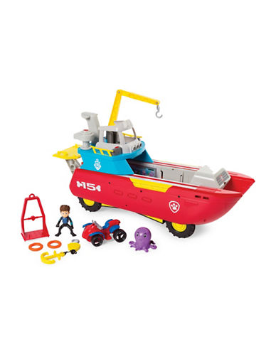 Paw Patrol Sea Patroller Set-MULTI-One Size