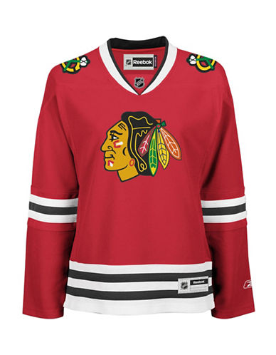 Reebok Chicago Blackhawks NHL Premier Home Jersey-RED-X-Small