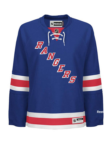Reebok New York Rangers NHL Premier Home Jersey-BLUE-Medium