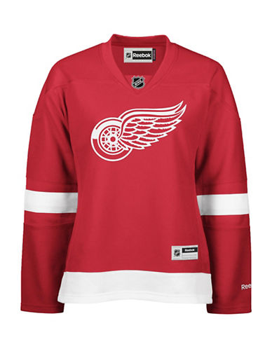 Reebok Detroit Red Wings NHL Premier Home Jersey-RED-X-Small