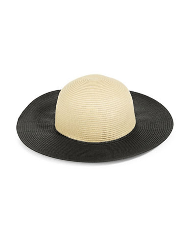 Parkhurst Contrast Floppy Sunhat-WHEAT/BLACK-One Size