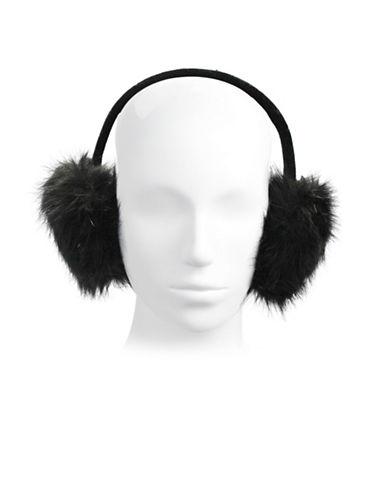 Parkhurst Faux Fur Earmuffs-BLACK-One Size