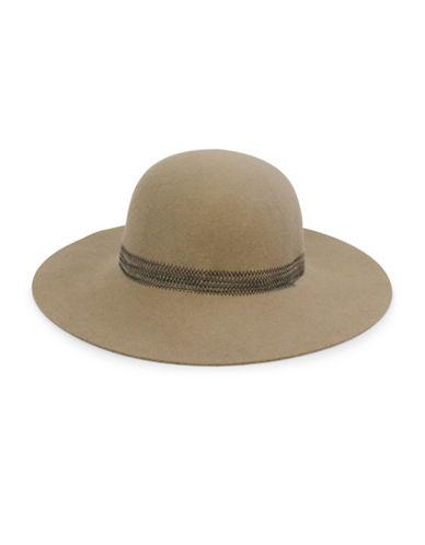 Parkhurst Wool Round Crown Hat-WHEAT-One Size
