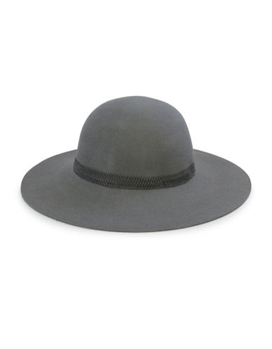 Parkhurst Wool Round Crown Hat-GUNMETAL-One Size