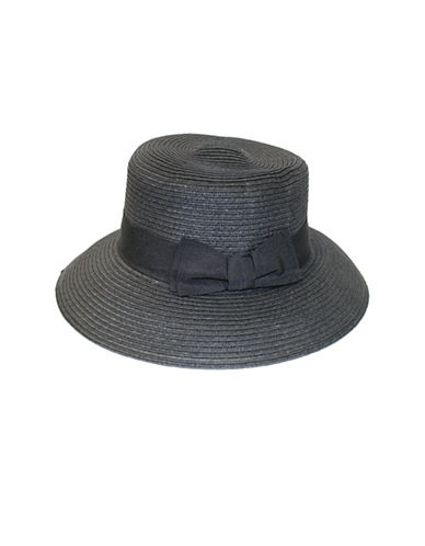 Parkhurst Panama Hat-BLACK-One Size