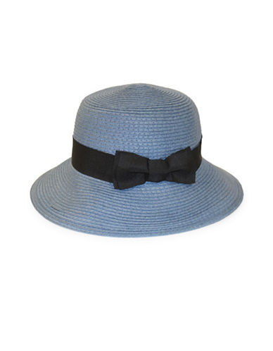 Parkhurst Panama Hat-DENIM-One Size