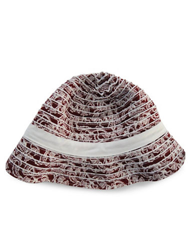 Parkhurst Bali Reversible Bucket Hat-RED-One Size