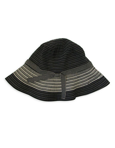 Parkhurst Riley Ribbon Hat-BLACK-One Size