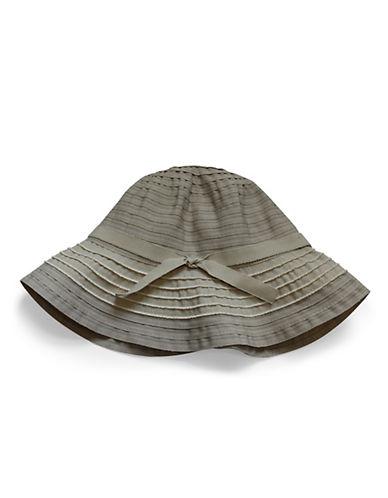 Parkhurst Riley Ribbon Hat-BEIGE-One Size