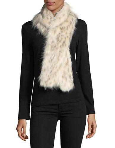 Parkhurst Faux-Fur Scarf-ARCTIC LEOPARD-One Size