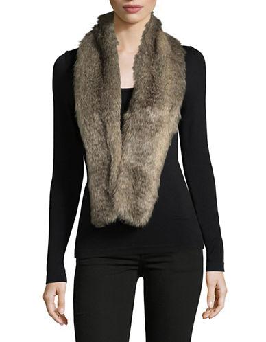 Parkhurst Faux-Fur Scarf-ARCTIC WOLF-One Size