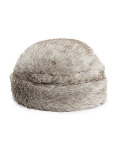 Parkhurst Faux Fur Hat-GRANITE-One Size