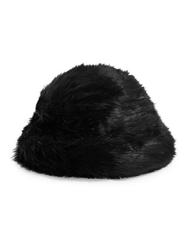 Parkhurst Faux Fur Hat-BLACK-One Size