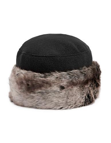 Parkhurst Faux Fur Trim Hat-BLACK TUNDRA-One Size