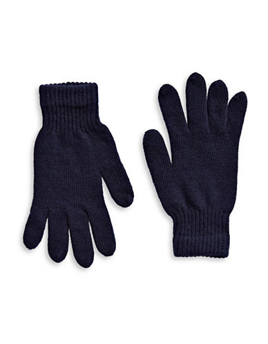 Parkhurst Lambswool Gloves-NAVY-One Size