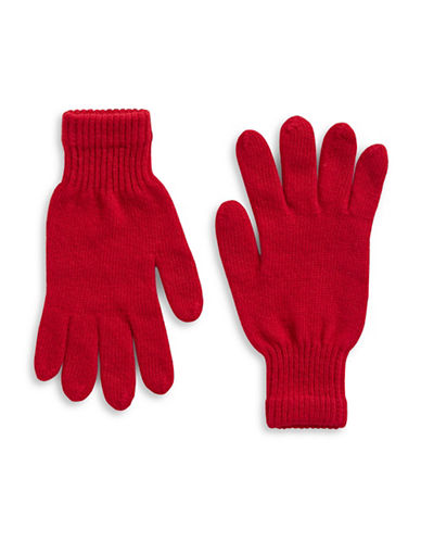 Parkhurst Lambswool Gloves-RED-One Size
