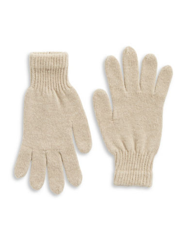 Parkhurst Lambswool Gloves-BIRCH-One Size