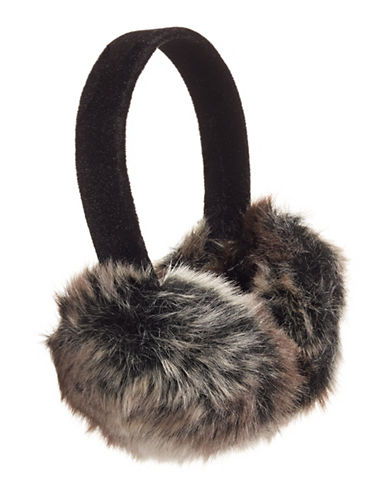 Parkhurst Floral and Faux Fur Ear Muffs-TUNDRA-One Size