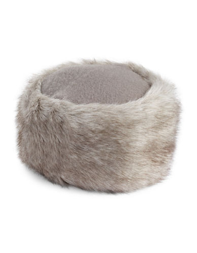 Parkhurst Wool Faux Fur Cossack Hat-LIGHT BROWN-One Size